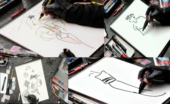 Karl Lagerfeld se dessine 2