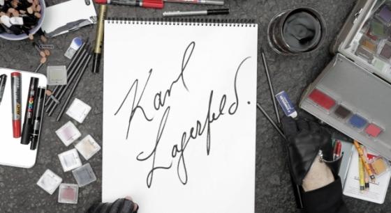 Karl se dessine