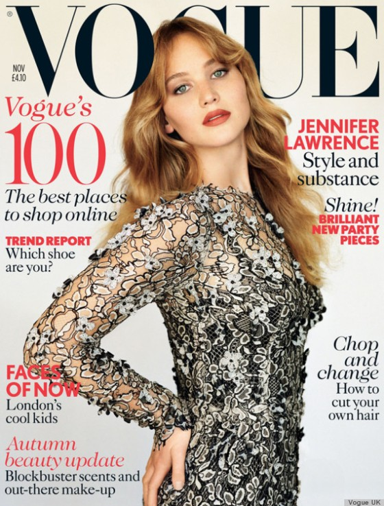 Jennifer Lawrence Vogue UK