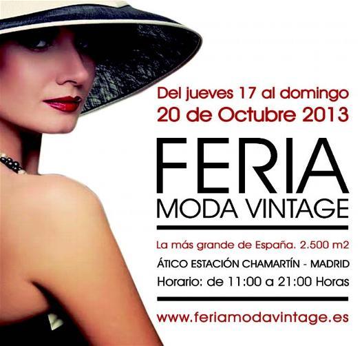 Feria Moda Vintage Madrid