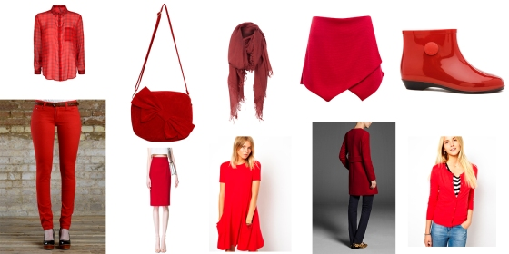 Tendencias Rojo Tiendas