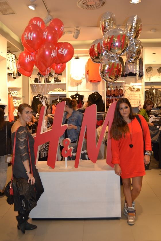 Pitimini Mademoiselle & My Trendy Sins - H&M Fashion Tour