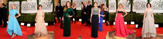 Golden Globes  Favoritas