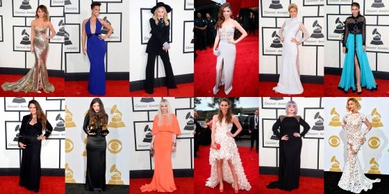 Peor vestidas Grammys