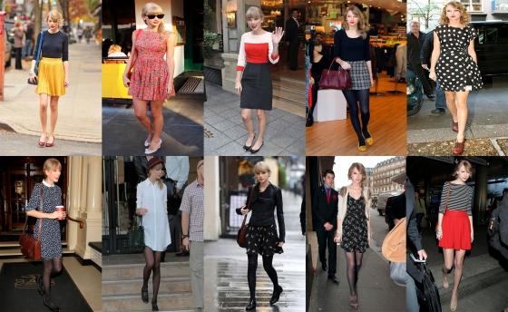 Taylor Swift Faldas Vestidos