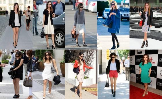 Rachel Bilson Vestidos Shorts