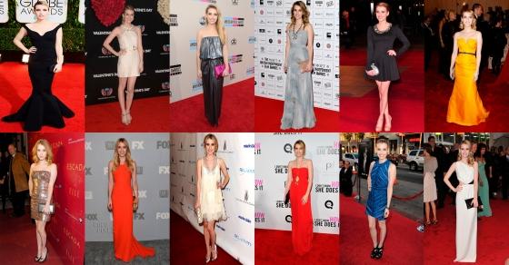 Emma Roberts Red Carpet